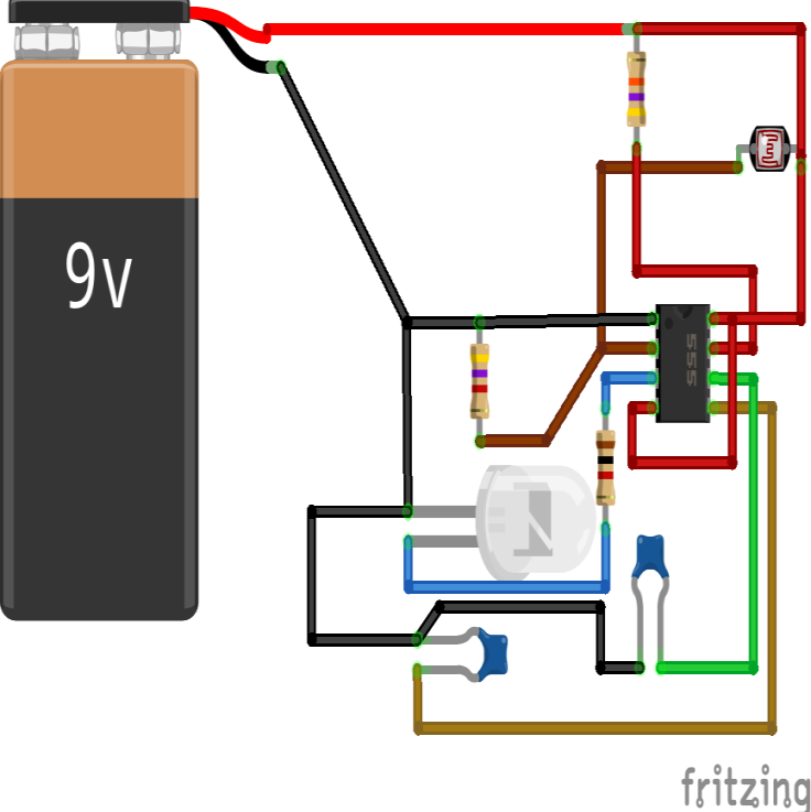 Servo Motor Control Using 555 Timer Ic Pictures To Pin On Pinterest