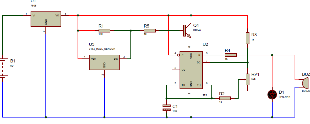 Door Timer Circuit With Alarm Door Ajar Alarm Circuit